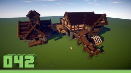 Harbour storehouse Minecraft Project