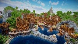 Aranel, The Lost Island Minecraft Project