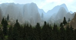 Realistic Dark Pine Forest [World of Targur] Minecraft