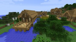 Forest Village (Old) Minecraft Map & Project
