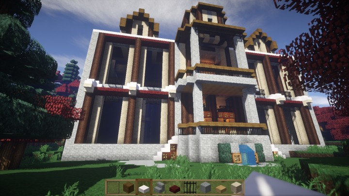 The Phantomhive Estate Minecraft Project