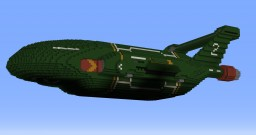 Thunderbird 2 - 2015 TV Redesign Minecraft Project