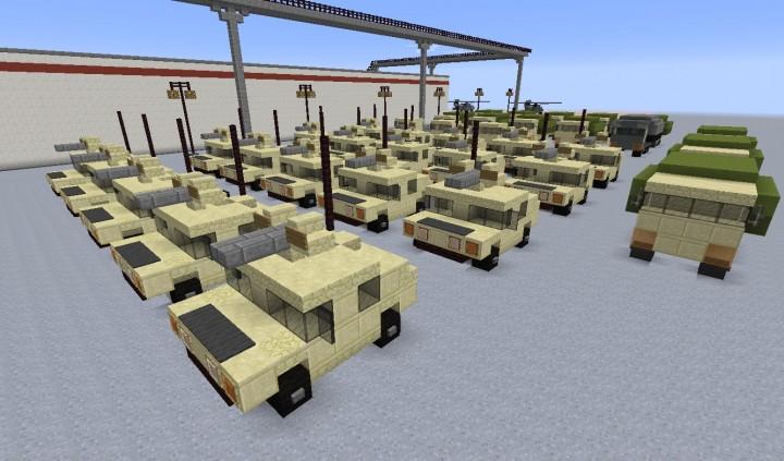 New Humvees
