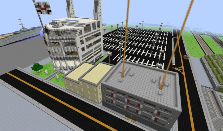 Moved the building from Fort Foxtrot to the Docks