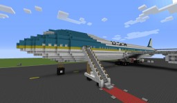 Air Force One (Real Scale) Minecraft Map & Project