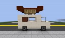 Hot Dog Truck | UAO Minecraft Project
