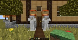 Small Log Mansion Minecraft Map & Project