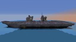 HMS Queen Elizabeth Aircraft Carrier Minecraft