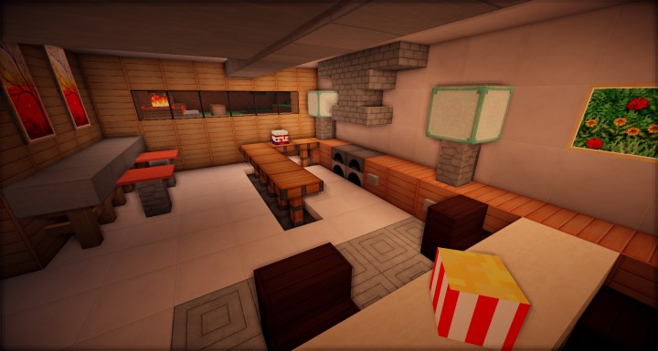 Zig Zag Modern Home Minecraft Project