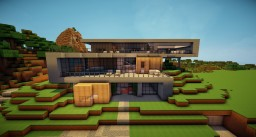 Zig Zag | Modern Home Minecraft Map & Project