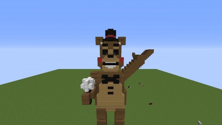 Minecraft Toy Freddy : Fnaf toy freddy minecraft project