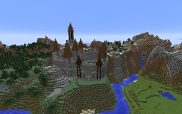 Mountain Castle Minecraft Project