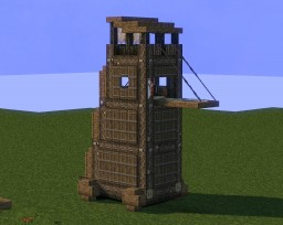 Medieval Siege Equipment #2 Minecraft Project