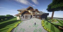 European Mansion Minecraft Map & Project