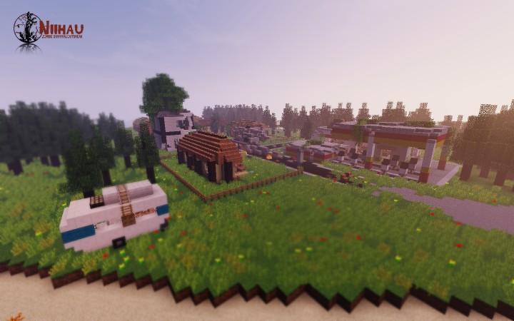 Niihau ourbreak island minecraft project for Crafting dead server download