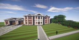 Georgian Estate Minecraft Map & Project