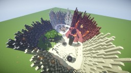 Snow/nether/end/grassland PvP arena + DOWNLOAD Minecraft Project