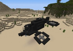 Ox-Class Transport Helicopter Minecraft Map & Project