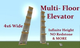 Tutorial : Multi-Floor Elevator (1.8.3) CHECK IT OUT ... Minecraft Map & Project