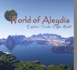 [1.8] World of Aleydia (Singleplayer or with friends) Minecraft Project