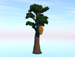 Giant tree/Beehive. + DOWNLOAD! Minecraft