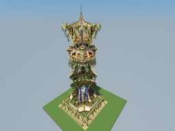 Elvish Guard Tower Minecraft Map & Project