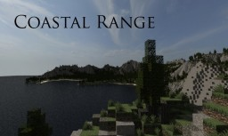 Coastal Range - Amazing Custom Terrain Minecraft