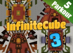 InfiniteCube 3 - Parkour Map [Community 100+ Levels] [1.8+] Minecraft