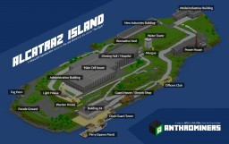 Alcatraz Island Minecraft Map & Project