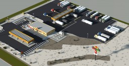 Nevada Truck Stop Minecraft