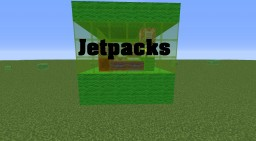Jetpacks [Only One Command] Minecraft Map & Project