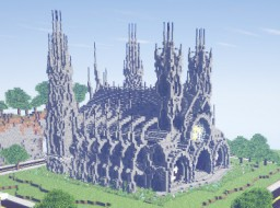 Hookje's Cathedral Minecraft Map & Project
