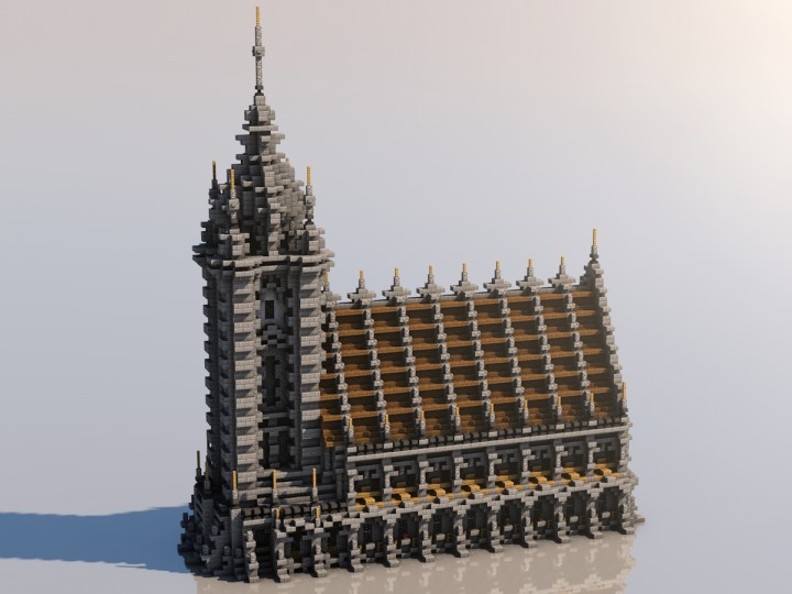Medieval Mondays 2 Church Minecraft Project
