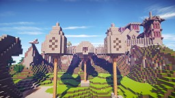 Phylanus V - a giant world with many different countries and cities Minecraft Map & Project