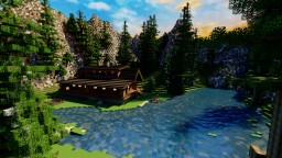 Cabin in the Mountains Minecraft Map & Project
