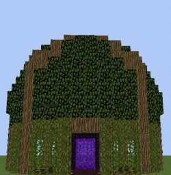 Nether Portal Decoration Minecraft Map & Project