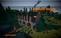 Medieval Tavern Minecraft Project