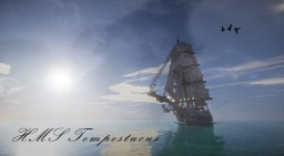 HMS Tempestuous | 5th Rate Frigate Minecraft Map & Project