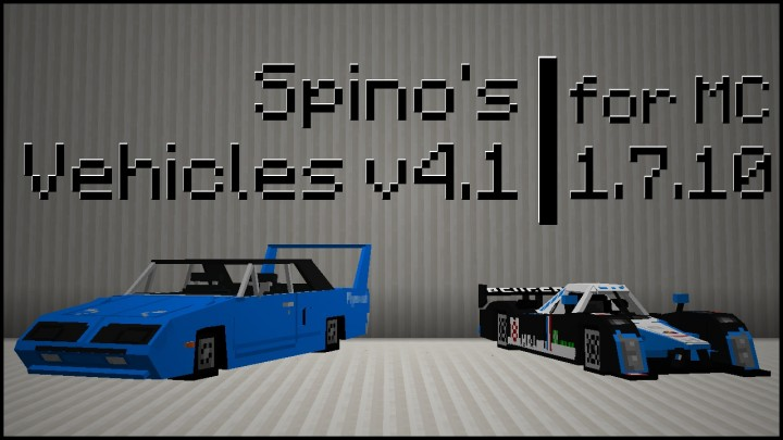 Previous release banner featuring Plymouth Superbird & Peugeot 908 HDi FAP