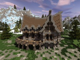 Hermit's shelter Minecraft Map & Project