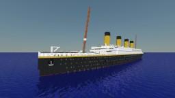 RMS Titanic 1:1 Minecraft