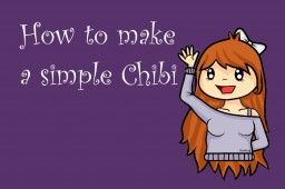 How to make a simple chibi Minecraft Blog Post