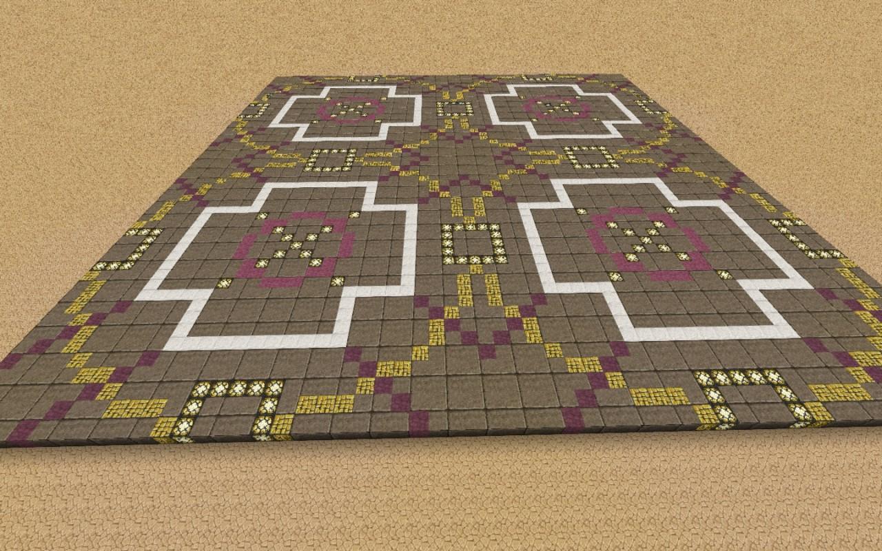 Town center floor design for Minecraft floor designs
