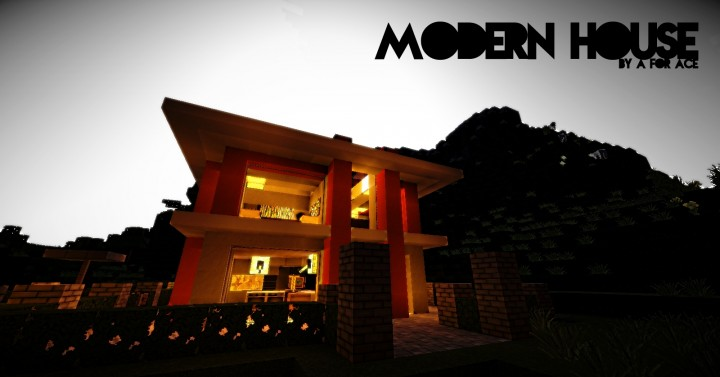 craft house lubbock modern house one minecraft project 1516