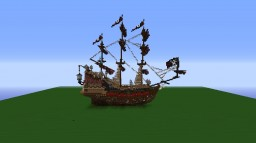 Queen Anne's Revenge - New Version by danielos125 Minecraft Project