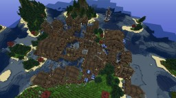 TidesFall fishing village Minecraft Project