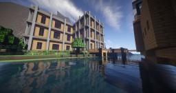 SilverStone Resort + Piston Dam [Download] - 50 Subscribers Special Minecraft