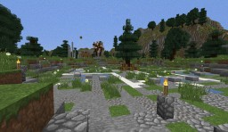 A Hunger Games map Minecraft Project