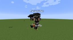 Parachutist soldier Minecraft Blog