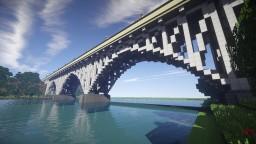 Truss Arch Bridge Minecraft Map & Project